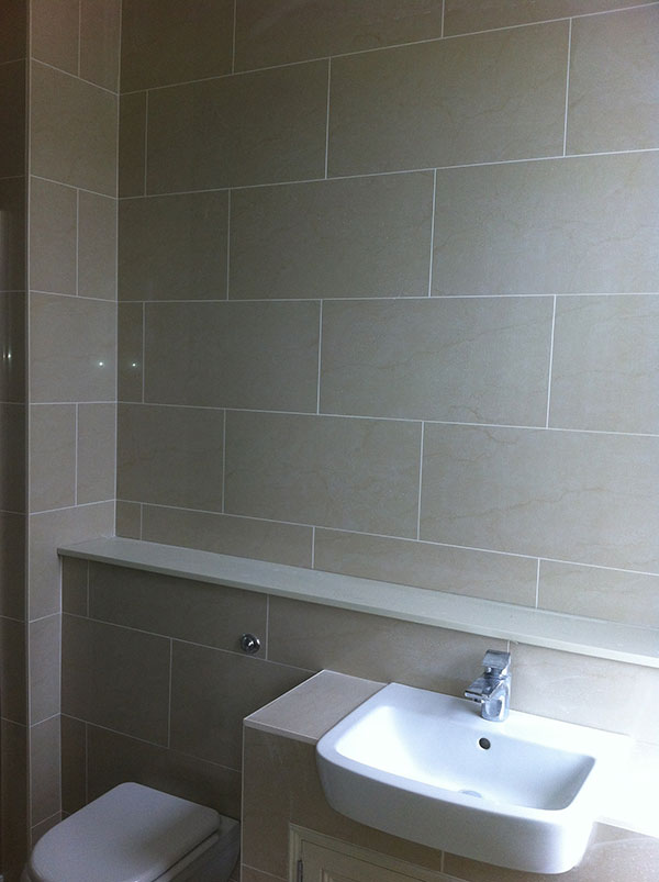 Our tiling work by the Tiling Edge
